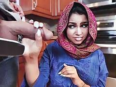 Busty Arabian slut Ada gets fucked super hard missionary style